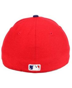 New Era Philadelphia Phillies Low Profile Ac Performance 59FIFTY Cap - Red 7 1/8