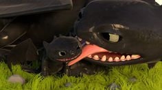 """With Love, from Your Night Fury"" by Jam722 .... How to train your dragon, toothless, night fury, dragon"