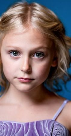 Alyvia Alyn Lind - Faith Newman (Y&R). She is so awesome for a child actress (: