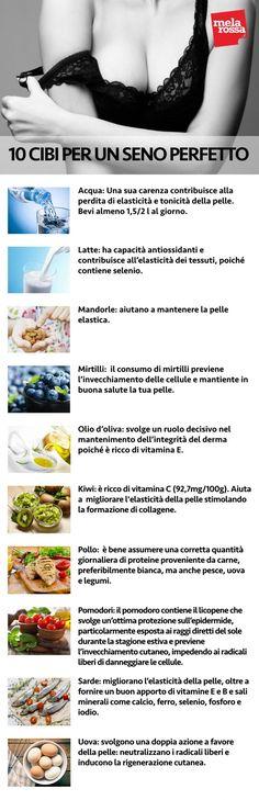 Seno perfetto: consigli e massaggio per avere un seno tonico - Melarossa Just Do It, Workout, Learning, Beauty, Marketing, Nature, Menopause, Food, Naturaleza