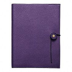 Bleecker Pebbled Leather A5 Notebook