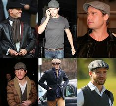 The timeless classic. A flat cap.