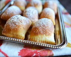 Beignets Recipe airy, crisp textures, soft yet chewy and sweet enough to satisfy your sweet tooth.