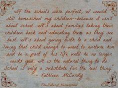 The Natural Homeschool: Why in the world I homeschool my children