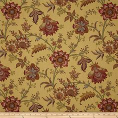 P/K Lifestyles Print Fabric - Island Gem/Harvest Home Decor Fabric, Elegant Homes, Joanns Fabric And Crafts, Outdoor Fabric, Printing On Fabric, Textile Printing, Accent Decor, Fabric Design, Screen Printing