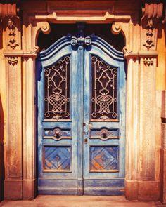 blue door no.2