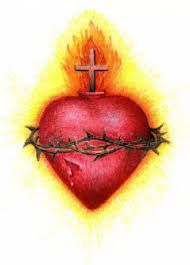 Image result for sacred heart iconography collage