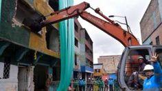 Colombia razes notorious Bronx slum in capital Bogota