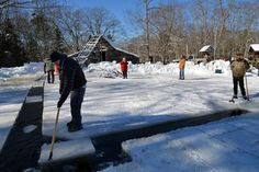 Learning the Lost Art of Ice Harvesting in Maine