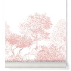 Sian Zeng Papier peint arbre Hua Rose