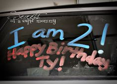 Secrets of a Super Mommy: The BirthDAY~Fun things to do on the REAL birthday