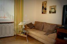 Apartment, holiday home, vacation, Germany, zusätzliche Couch im Wohnzimmer (2.Schlafcouch)