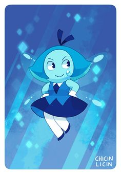 Chloe P — Aquamarine!!..might animate her later…add it to...