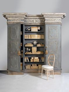 Loving this French Bookcase Bibliothèque? Couture Furniture is an official furniture home gallery that offers reproduction at a fraction of a price. Contact us today and mention CF@PINTEREST to receive the best price we can offer!