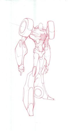 Transformers News: Transformers Robots In Disguise (Animated Series) Sideswipe Concept Art