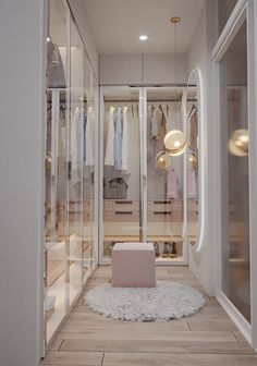 Wardrobe Room, Wardrobe Design Bedroom, Room Design Bedroom, Girl Bedroom Designs, Home Room Design, Bathroom Interior Design, Dressing Room Design, Luxury Closet, Stylish Bedroom