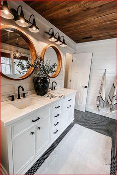 Bad Inspiration, Bathroom Inspiration, Bathroom Renos, Remodel Bathroom, Bathroom Small, Budget Bathroom, White Bathroom, Next Bathroom, Rustic Master Bathroom