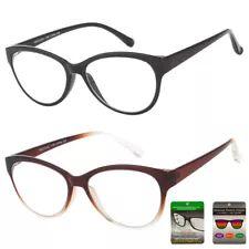7864199e7a6 Multi Focus Progressive Reading Glasses 3 Powers in 1 Reader Cat Eye Bifocal