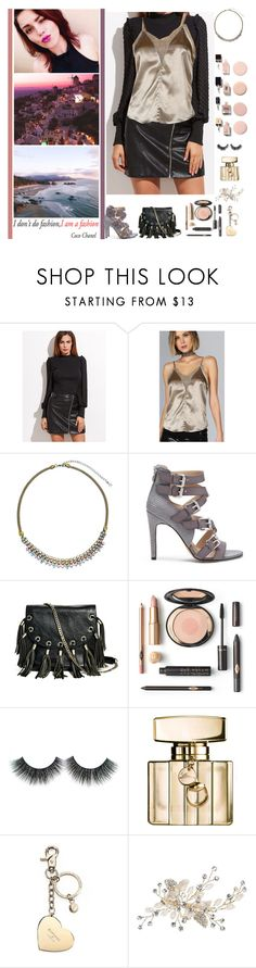 """""""You can tell me what you see. I will choose what I belive"""" by fashionqueen76 ❤ liked on Polyvore featuring Chanel, Sorrelli, Sole Society, GUESS by Marciano, Gucci, Aspinal of London, necklace, fashionset and shein"""