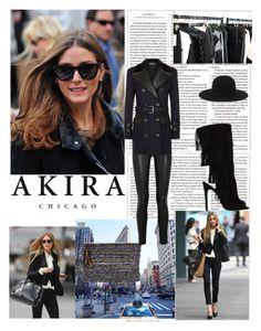 """AKIRA 3"" by antonija2807 ❤ liked on Polyvore featuring moda, Brixton, Nila Anthony, Helmut Lang, Balmain e shopakira"