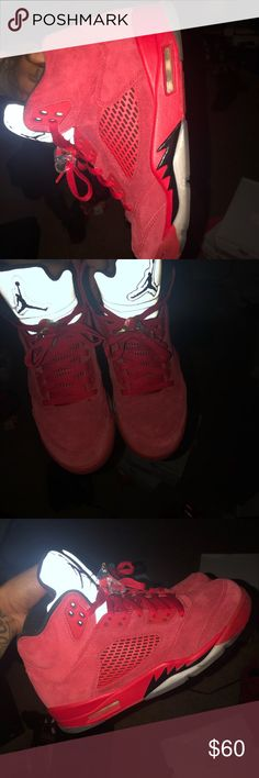 buy popular ebb32 ac5bd Jordan Retro 5s size 9 great condition NO TRADES Jordan Shoes Athletic  Shoes Jordan Shoes,