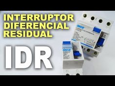 Interruptor diferencial residual - IDR! Funcionamento e como usar! - YouTube Electronics Projects, Solar, Layout, Youtube, Tips, Decor, Power Engineering, Building Costs, Distribution Board