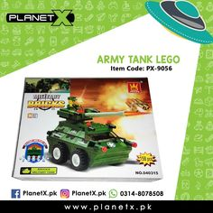Product: Army Tank Lego Item Code: PX-9056 Price: Rs 725  @planetx.pk  Whatsapp: 03148078508  Description: - Military Play Set - Suitable for ages 6 years - Lego Compatible - Made from Plastic - Non-toxic environment friendly - Contains 158 Lego pieces  #CashOnDelivery #Pakistan #Karachi #Islamabad #Lahore #PlanetX #PakistanShopping #LikeForLikes #F4F #FollowForFollow #LearningKids #Toy #InstagramPakistan #ShopNow #OrderNow #TwinTower #Malaysia #BuildingBlocks #Blocks #Interlocking…