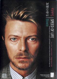 Speed of Life: David Bowie & Masayoshi Sukita  1972 to 2002. Genesis Publications, 2012. David Bowie by © Masayoshi Sukita.