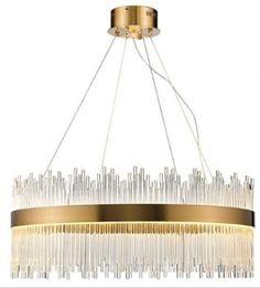 średniej wielkości żyrandol kryształowy średnicy 60cm Chandelier, Ceiling Lights, Led, Lighting, Home Decor, Homemade Home Decor, Decoration Home, Light Fixtures, Room Decor