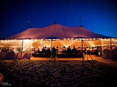 Nantucket Island Events: Nantucket Tents' Sperry Tent at Galley Beach