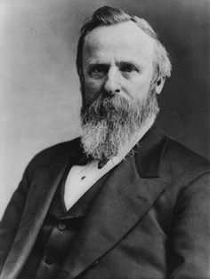 19: As a young man, Rutherford B. Hayes suffered from lyssophobia, or the fear of going insane.