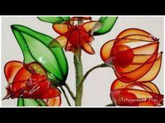 Vida com Arte | Mini rosas em resina plástica por Junko Miazato - 19 de Setembro de 2015 - YouTube
