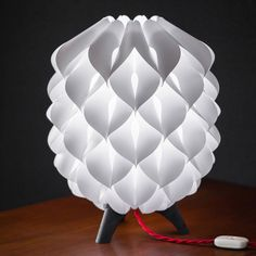 Softly Petalled Lighting - The Blom Table Lamp by Sander Bakker is a Bright Bloom (GALLERY)