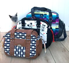 Travel Bags The Lunar Collection by ChrisW by ChrisWDesigns