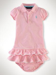 Ralph Lauren Polo Dress - Baby Shower Gifts