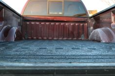 Chemso anti-slip safety coating for truck beds