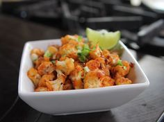 """Spicy Cauliflower Stir-Fry - """"The Pioneer Woman"""", Ree Drummond on the Food Network. Stir Fry Recipes, Low Carb Recipes, Cooking Recipes, Healthy Recipes, Healthy Meals, Top Recipes, Healthy Soup, Cauliflower Stir Fry, Cauliflower Recipes"""