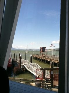 View from one of the tables at Franciscan Crab Restaurant