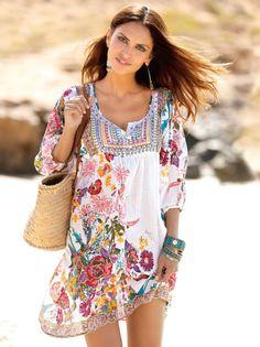 Los complementos reflejan la personalidad, no sólo la ropa. #complementos #moda #playa #bolso #pulseras #capazos Bohemian Style, Boho Chic, Manga 3 4, Vestidos Sexy, Mode Boho, Summer Outfits, Summer Dresses, Daily Dress, Boho Fashion