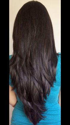 Long hair layer