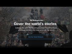 The Washington Post built a social network for its freelancers to better match skills to stories » Nieman Journalism Lab