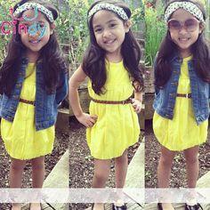 $5.80 (Buy here: https://alitems.com/g/1e8d114494ebda23ff8b16525dc3e8/?i=5&ulp=https%3A%2F%2Fwww.aliexpress.com%2Fitem%2FRetail-2013-new-sleeveless-Waist-Chiffon-Dress-Girls-Flower-Tutu-Princess-Party-Bow-Kids-Formal-Dress%2F1934091406.html ) Retail !2016 new girls dress wholesale fashion  beach sundress kids baby vacation party gril children clothing 2-6 years for just $5.80