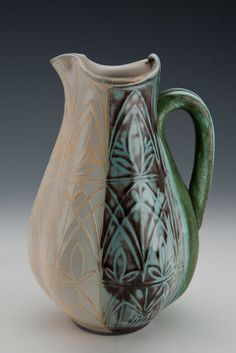 Julia Galloway pitcher - Julia will be at the 2013 NC Potters Conference in Asheboro, NC, March 1-3, 2013