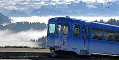 Rigi - mit Volldampf zur Hochstimmung - Eventidee in Vitznau Recreational Vehicles, Train, Mood, Creative Ideas, Camper, Strollers, Campers, Single Wide