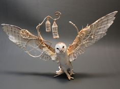 "Doesn't this just remind you of ""Labyrinth""??? Fantasy Clay Creatures by Ellen Jewett"