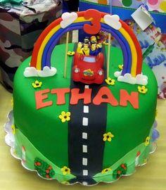 Wiggles birthday cake.