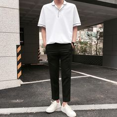 New Clothes Aesthetic Male 24 Ideas Korean Fashion Men, Korea Fashion, Korean Men, Asian Fashion, Look Fashion, Mens Fashion, Korean Outfits, Boy Outfits, Casual Outfits