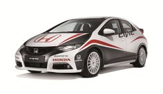 Limited edition Swiss road car in the style of the WTCC Honda Civic.