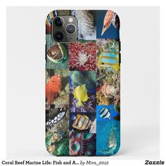 Coral Reef Marine Life: Fish and Animals Photos iPhone 11 Pro Max Case