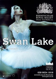 Birmingham Royal Ballet - Swan Lake, Grand Canal Theatre Dublin 2008, featuring Nao Sakuma ♥ Wonderful! www.thewonderfulworldofdance.com #ballet #dance